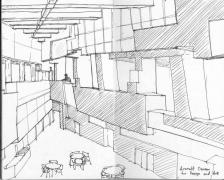 신시네티 대학교의 건축과 건물